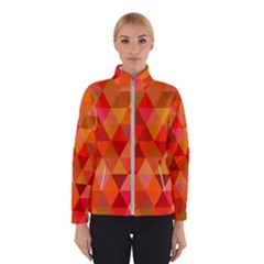 Red Hot Triangle Tile Mosaic Winterwear