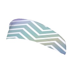 Zigzag Line Pattern Zig Zag Stretchable Headband