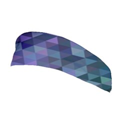 Triangle Tile Mosaic Pattern Stretchable Headband