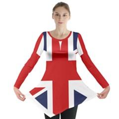 Uk Flag United Kingdom Long Sleeve Tunic