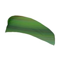 Green Background Elliptical Stretchable Headband