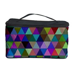 Triangle Tile Mosaic Pattern Cosmetic Storage Case