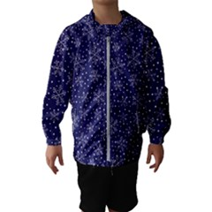 Pattern Circle Multi Color Hooded Wind Breaker (kids)