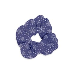 Pattern Circle Multi Color Velvet Scrunchie