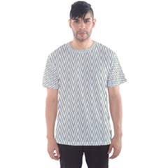 Vintage Pattern Chevron Men s Sports Mesh Tee