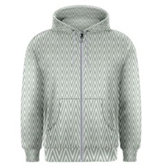 Vintage Pattern Chevron Men s Zipper Hoodie