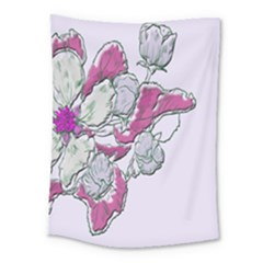 Bouquet Flowers Plant Purple Medium Tapestry