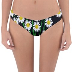 Bouquet Geese Flower Plant Blossom Reversible Hipster Bikini Bottoms