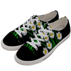 Bouquet Geese Flower Plant Blossom Women s Low Top Canvas Sneakers by Nexatart