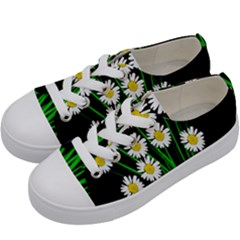 Bouquet Geese Flower Plant Blossom Kids  Low Top Canvas Sneakers by Nexatart