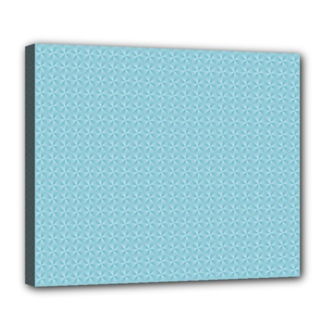 Blue Pattern Background Texture Deluxe Canvas 24  X 20