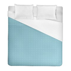 Blue Pattern Background Texture Duvet Cover (full/ Double Size)