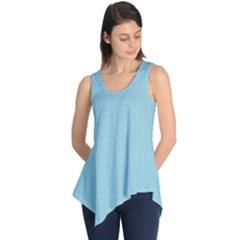 Blue Pattern Background Texture Sleeveless Tunic