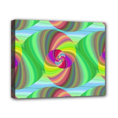 Seamless Pattern Twirl Spiral Canvas 10  X 8  by Nexatart