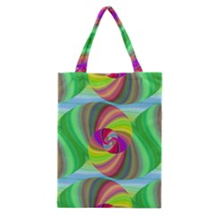 Seamless Pattern Twirl Spiral Classic Tote Bag