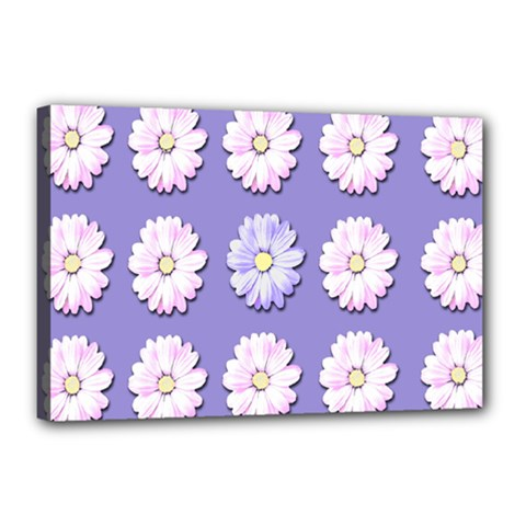 Daisy Flowers Wild Flowers Bloom Canvas 18  X 12
