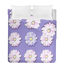 Daisy Flowers Wild Flowers Bloom Duvet Cover Double Side (full/ Double Size)