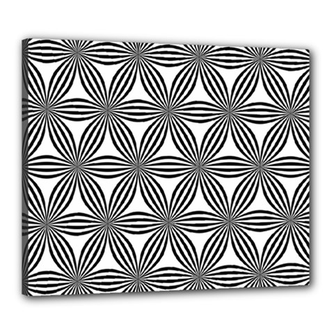 Seamless Pattern Repeat Line Canvas 24  X 20  by Nexatart