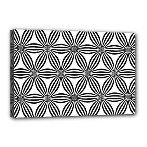 Seamless Pattern Repeat Line Canvas 18  X 12