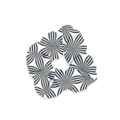 Seamless Pattern Repeat Line Velvet Scrunchie