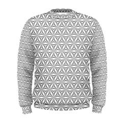 Seamless Pattern Monochrome Repeat Men s Sweatshirt