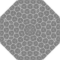 Cube Pattern Cube Seamless Repeat Folding Umbrellas
