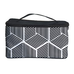 Cube Pattern Cube Seamless Repeat Cosmetic Storage Case by Nexatart