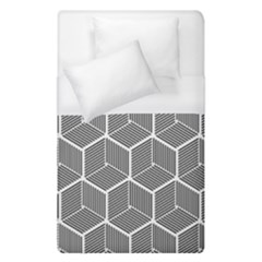 Cube Pattern Cube Seamless Repeat Duvet Cover (single Size)