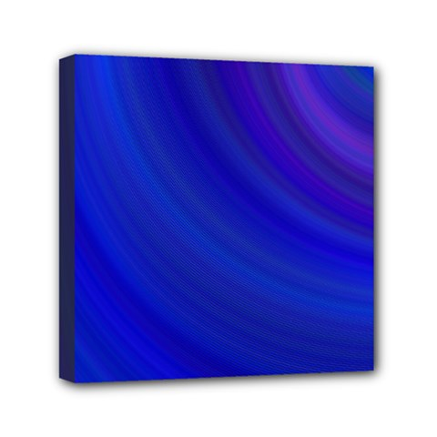 Blue Background Abstract Blue Mini Canvas 6  X 6