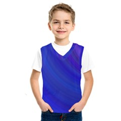 Blue Background Abstract Blue Kids  Sportswear