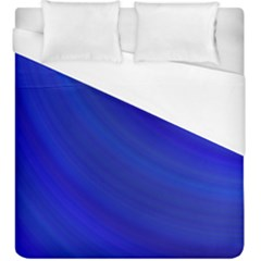 Blue Background Abstract Blue Duvet Cover (king Size)