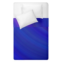 Blue Background Abstract Blue Duvet Cover Double Side (single Size)