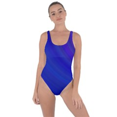 Blue Background Abstract Blue Bring Sexy Back Swimsuit