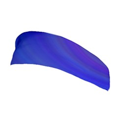 Blue Background Abstract Blue Stretchable Headband