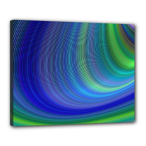 Space Design Abstract Sky Storm Canvas 20  X 16
