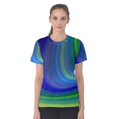 Space Design Abstract Sky Storm Women s Cotton Tee