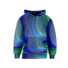 Space Design Abstract Sky Storm Kids  Pullover Hoodie