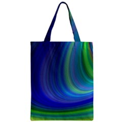 Space Design Abstract Sky Storm Zipper Classic Tote Bag