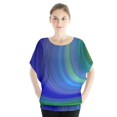 Space Design Abstract Sky Storm Blouse
