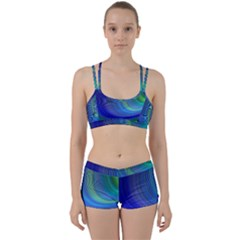 Space Design Abstract Sky Storm Women s Sports Set