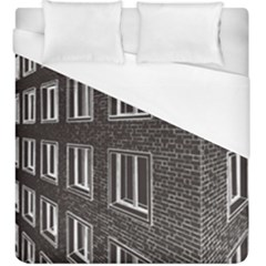 Graphics House Brick Brick Wall Duvet Cover (king Size)