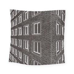 Graphics House Brick Brick Wall Square Tapestry (small)