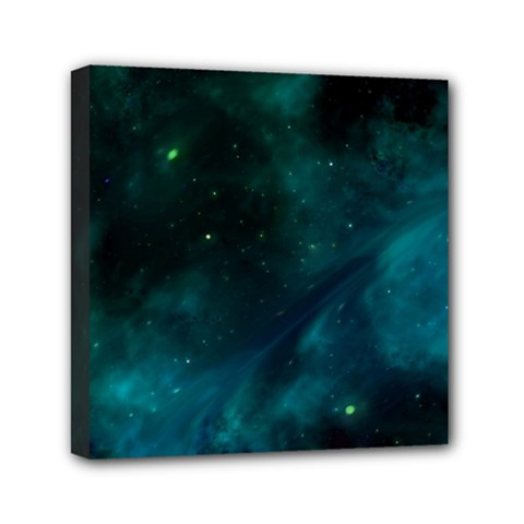 Space All Universe Cosmos Galaxy Mini Canvas 6  X 6
