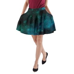 Space All Universe Cosmos Galaxy A Line Pocket Skirt