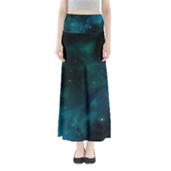 Space All Universe Cosmos Galaxy Full Length Maxi Skirt