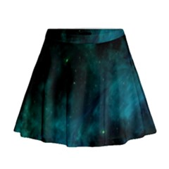 Space All Universe Cosmos Galaxy Mini Flare Skirt