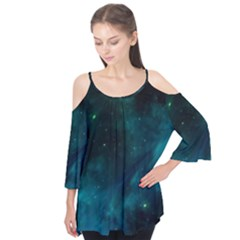 Space All Universe Cosmos Galaxy Flutter Tees