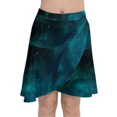 Space All Universe Cosmos Galaxy Chiffon Wrap