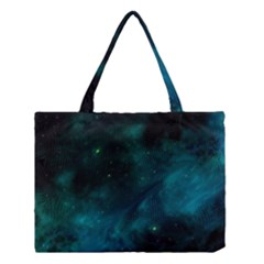 Space All Universe Cosmos Galaxy Medium Tote Bag by Nexatart