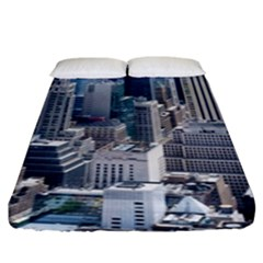 Manhattan New York City Fitted Sheet (king Size)